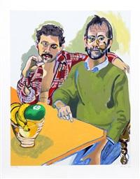 men from rutgers by alice neel