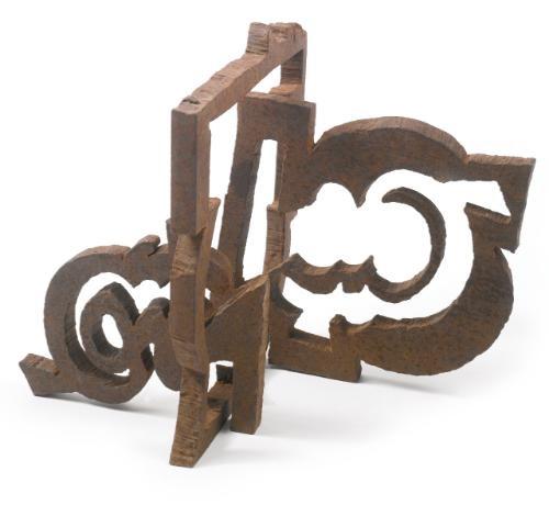 untitled puzzle piece by mark di suvero