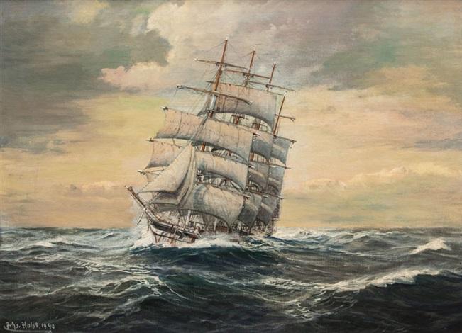 holst marinemaler auktionen