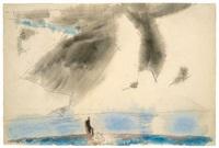 the cloud by lyonel feininger