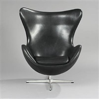 the egg chair (model 3316) by arne jacobsen