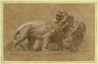 zwei löwen by andrea appiani