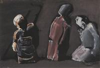 tre figure by mario sironi