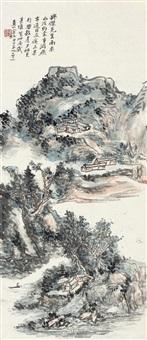mountain by the river by huang binhong