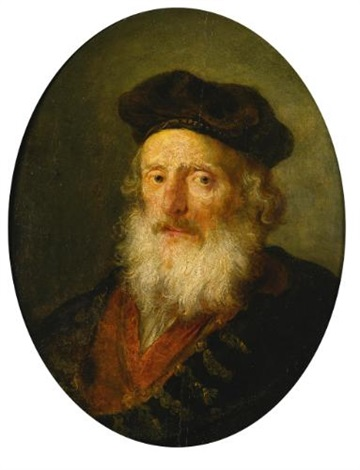 portrait of an old man by rembrandt van rijn