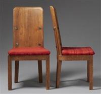 stolar, ett par by axel einar hjorth