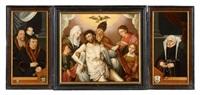 triptychon mit kölner stifterporträts by bartholomäus (barthel) bruyn the younger
