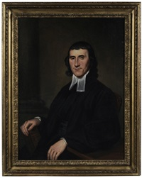 a clergyman (dr. william schaffer, minister?) by charles willson peale