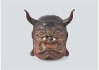mask of gozu-tenno by satoshi yabuuchi