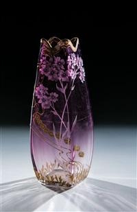 vase by gräfliche harrach'sche glasfabrik (co.)