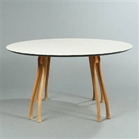 axe table by poul henningsen