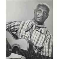 lead belly (huddie william ledbetter), 1944 by berenice abbott