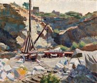rockport quarry by agnes anne abbot