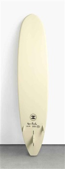 chanel surfboard by tom sachs