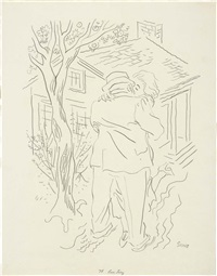 love story by george grosz