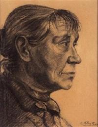 anciana by ramon ribas rius