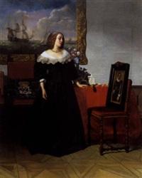 het portret by johann cornelius mertz