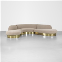 sectional sofa by milo baughman