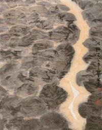 河滩 by zhou shaohua