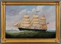 portrait of the british ship