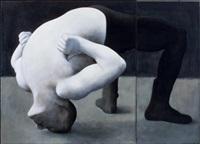 silta (diptych) by susanne gottberg