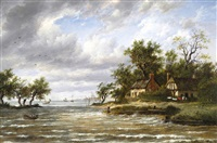 cottages by the sea by patrick nasmyth