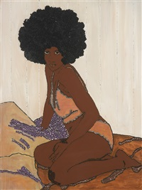 sugar baby by mickalene thomas