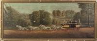 carriage scene by dan w. smith