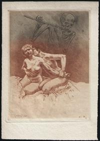 les pièces condamnées des fleurs du mal (set of 6) by armand rassenfosse
