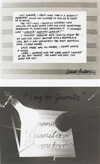 juanita (in 2 parts) by laurie anderson