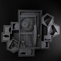 open zag viii by louise nevelson