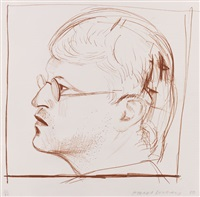 self portrait by david hockney