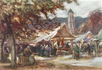breton market by thomas william morley