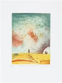les jardins mystérieux (portfolio of 5) by rené carcan