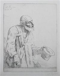 the beggar by alphonse legros
