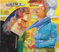 turtleneck by dana schutz