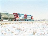 eastbound freight by william (bill) h. webb