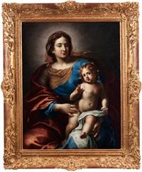 madonna mit dem segnenden jesuskind by erasmus quellinus the younger