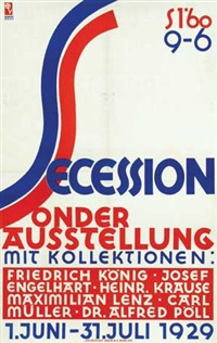 secession sonder austellung by robert haas