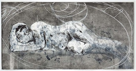 sleeper and ubu by william kentridge