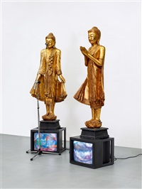 temple guards by nam june paik