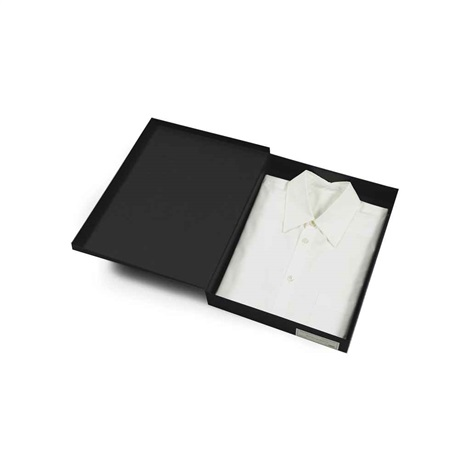 white shirt (for mallarmé), spring (w/poem by stéphane mallarmé and shirt by ann demeulemeester) by rodney graham