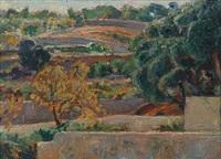 cap de pera, mallorca (+ village, yugoslavia; 2 works) by ellen fischer