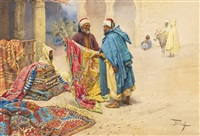 the rug merchant by giulio rosati