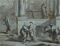 la visitation by antoine rivalz