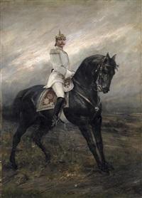 kaiser wilhelm ii. zu pferd by joszi arpad koppay