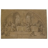 the last supper by lazzaro tavarone