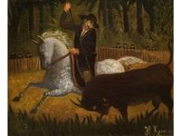 le picador mexicain by henri rousseau