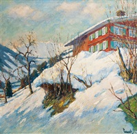 bright winter's day by edward cucuel
