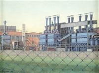 blaue fabrik by franz sequenc